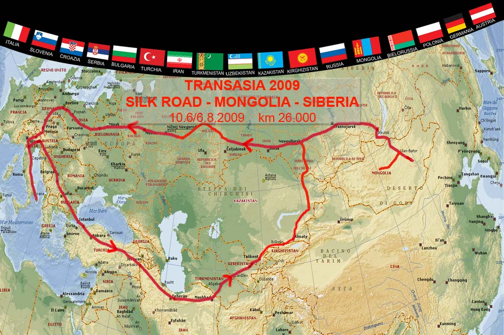 Transasia 2009 Via Della Seta Mongolia Siberia Il